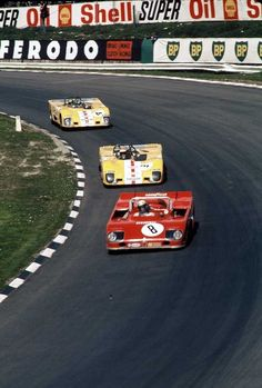 Peter Revson and Rolf Stommelen shared this Alfa 33 TT3 at he 1000 Km Race at Brands Hatch 1972