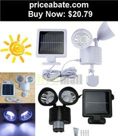 Farm-Garden: New 22 LED Solar Powered Motion Sensor PIR Security Light Garden Garage Outdoor - BUY IT NOW ONLY $20.79
