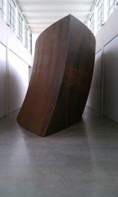 Union of the Torus and the Sphere (2001) Richard Serra at Dia, Beacon.