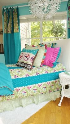Alyssa Bedding|Fab Style Kids Rooms http://fabstylekidsrooms.com/Bedrooms/Bedding-Collections/Girls-Bedding/Alyssa-Bedding #bedding