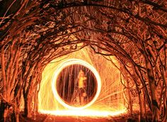 How to do steel wool photography