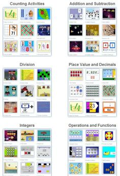 Johnnie's Math Page is a fun, interactive, site that offers a variety of math games, worksheets and more!