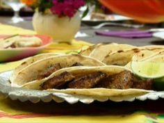 Fish Tacos Recipe : Aarti Sequeira : Food Network