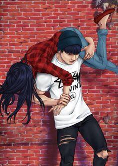 BTS Fan Art #BTS #RelationshipGoals #Cute