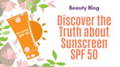Discovering the truth is HARD but not with us, Here's how to find out the real truth about Sunscreen SPF Say NO to Suntan with Gel Sunscreen. and know much more about Sunscreen with SPF 50 Sunscreen Spf 50, Best Sunscreens, Vitamins For Skin, Sensitive Skin, Lotion, How To Find Out, Blog, Cream, Summer