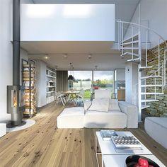 Proiecte gratis,Proiecte Case Parter Home Budget, Kitchen On A Budget, Open Plan Kitchen, Modern Deck, Rustic Interiors, Kitchen Interior, My House, Home Goods, Living Spaces