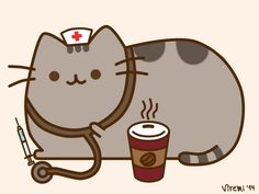 nurse Pusheen