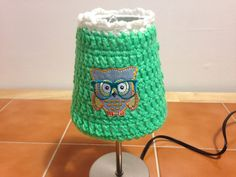 Crochet Lampshade cover lamps home living home decor lighting bulbs lamp covers hostess gifts shower gifts housewarming gifts owls animals by MeMawsCustomCrochet on Etsy