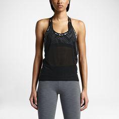 Damska koszulka treningowa bez rękawów Nike Burnout Fly. Nike Store PL