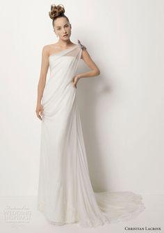 Christian Lacroix Mariée wedding dress TALISMÁN silk gauze gown Keywords: #weddings #jevelweddingplanning Follow Us: www.jevelweddingplanning.com  www.facebook.com/jevelweddingplanning/