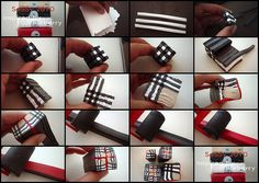 Tutorial Burberry Cane by Saskia Veltenaar, via Flickr
