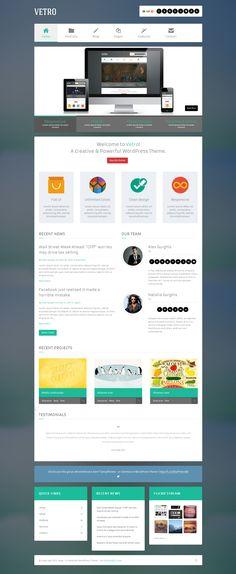 Slate WordPress Theme Okay Themes 45 Gorgeous WordPress Themes
