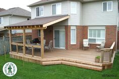 23 Amazing Covered Deck Ideas To Inspire You, Check It Out! #Decks Ideas Tags: covered deck ideas on a budget, partially covered deck ideas, second story covered deck ideas