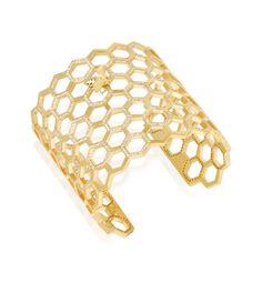 11 Bizarre Bracelet Gift Ideas...Honeycomb Cuff