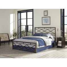 Found it at Wayfair - Alpine Panel Bed