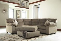 Shop Roldan Contemporary Mocha Fabric Living Room Set with great price, The Classy Home Furniture has the best selection of to choose from Benchcraft Furniture, Leather Furniture, Home Office Furniture, Casual Dining Rooms, Living Room Sets, Mocha, Contemporary, Cart, Collections