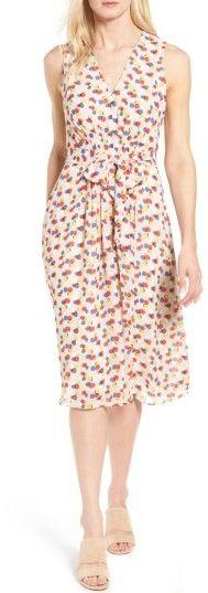Women's Anne Klein Print Chiffon Dress #ad