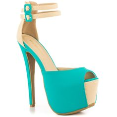 Reeves - Turquoise Shoe Republic $59.99