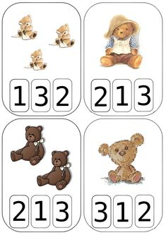 "Cartes à compter ""nounours"" Art Mat, Cicely Mary Barker, Numbers Preschool, 1st Grade Math, Kindergarten Worksheets, Nursery Rhymes, Pre School, Book Quotes, Teddy Bear"