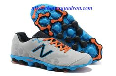 62e9bfa15a2c Barefoot Running With The New Balance Minimus Ionix M3090SK1 Mens Light  Grey Blue Hero Orange Mens