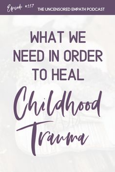 Trauma recovery and healing childhood is so important even as adults! Try out these empath protection tips in order to heal from childhood trauma. Trauma, Ptsd, Sound Healing, Brain Activities, Inner Child, Nervous System, Recovery, Childhood, Stress