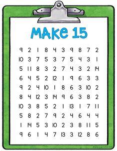 Math games 523754631664643342 - Circling Sums Math Game by Lucky to Be in First by Molly Lynch Homeschool High School, Homeschool Math, Math Classroom, Kindergarten Math, Teaching Math, Math Games For Kids, Math Activities, Mental Maths Games, 1st Grade Math Games