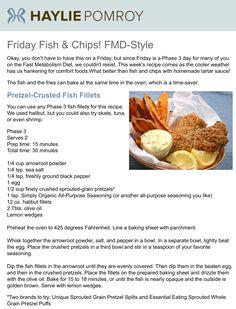 Pretzel-Encrusted Fish Fillets, Fast Metabolism Diet