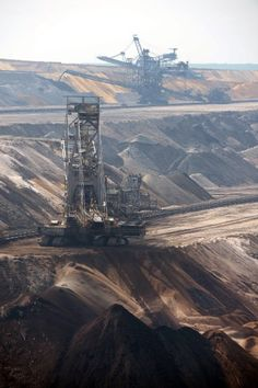 Garzweiler II open-pit mining project