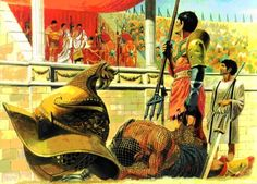 LES JEUX À ROME - LES COMBATS DE GLADIATEURS