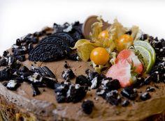 Stekt oreokake Oreo Cake, Acai Bowl, Panna Cotta, Cheese, Breakfast, Ethnic Recipes, Food, Acai Berry Bowl, Morning Coffee