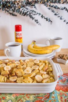 Recipe: Christmas Morning Banana Strata — Recipes from The Kitchn Sponsored by PAM
