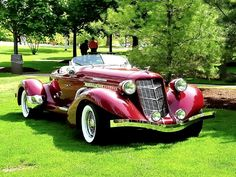1935 Auburn Boattail Speedster Convertible Model 851