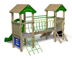 Beacon Double Tower  #playground #equipment #design