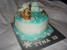 cake glacial period dort doba ledová