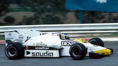 1984 Keke Rosberg , Williams Grand Prix Engineering Team,  Williams FW09 Honda