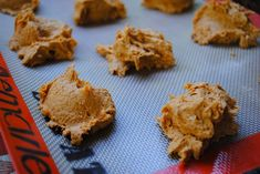 pumpkin spice cookies: 2 ingredients
