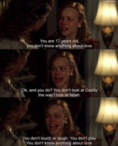 oh how I am still in love with The Notebook