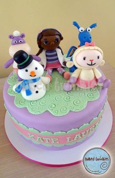 doc mcstuffins and friends cake