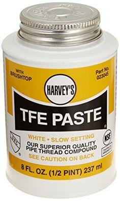 Harvey 023045 1/2 Pint Tfe Paste With Teflon, 2015 Amazon Top Rated Thread Sealants #HomeImprovement