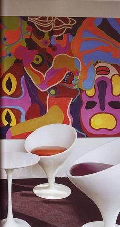 Funky walls 60s