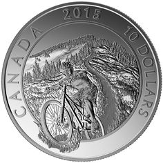 Silver Coin: Superior craftsmanship captures the thrill of mountain biking and the beauty of off-road trails;