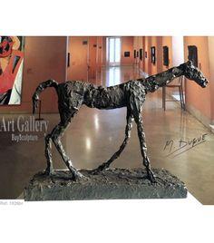 Escultura Caballo Impresionista del escultor Martín Duque