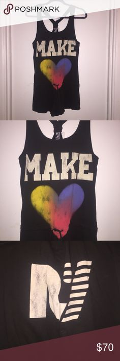Rebel Yell Make Love Romper ❤️💛💚💙💜 BRAND NEW Rebel Yell Make Love Romper ❤️💛💚💙💜 Super Soft fabric with soft printing. ✨BRAND NEW✨ size M Rebel Yell Other