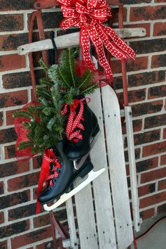 Our front porch every year!