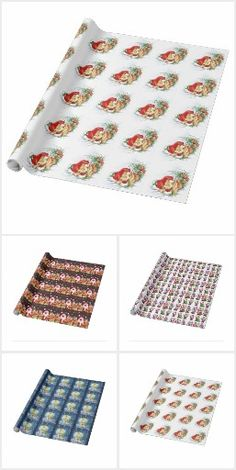 Christmas wrapping Paper and hobby paper