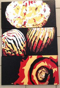 Enamel Painting shells