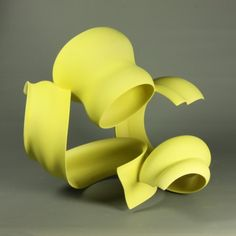 Wouter Dam Yellow Scultpure