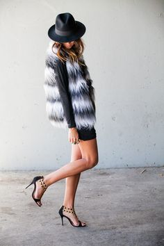 Shaggy faux fur