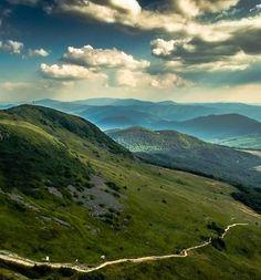 Tarnica... The highest peak of the Polish Bieszczady Mountains.