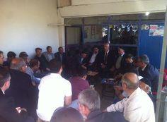 Ilıcalar beldemizde vatandaşlarımızla hasbihal ederken. Feyzi Berdibek AK Parti Bingöl 3. Sıra Milletvekili Adayı #Akparti